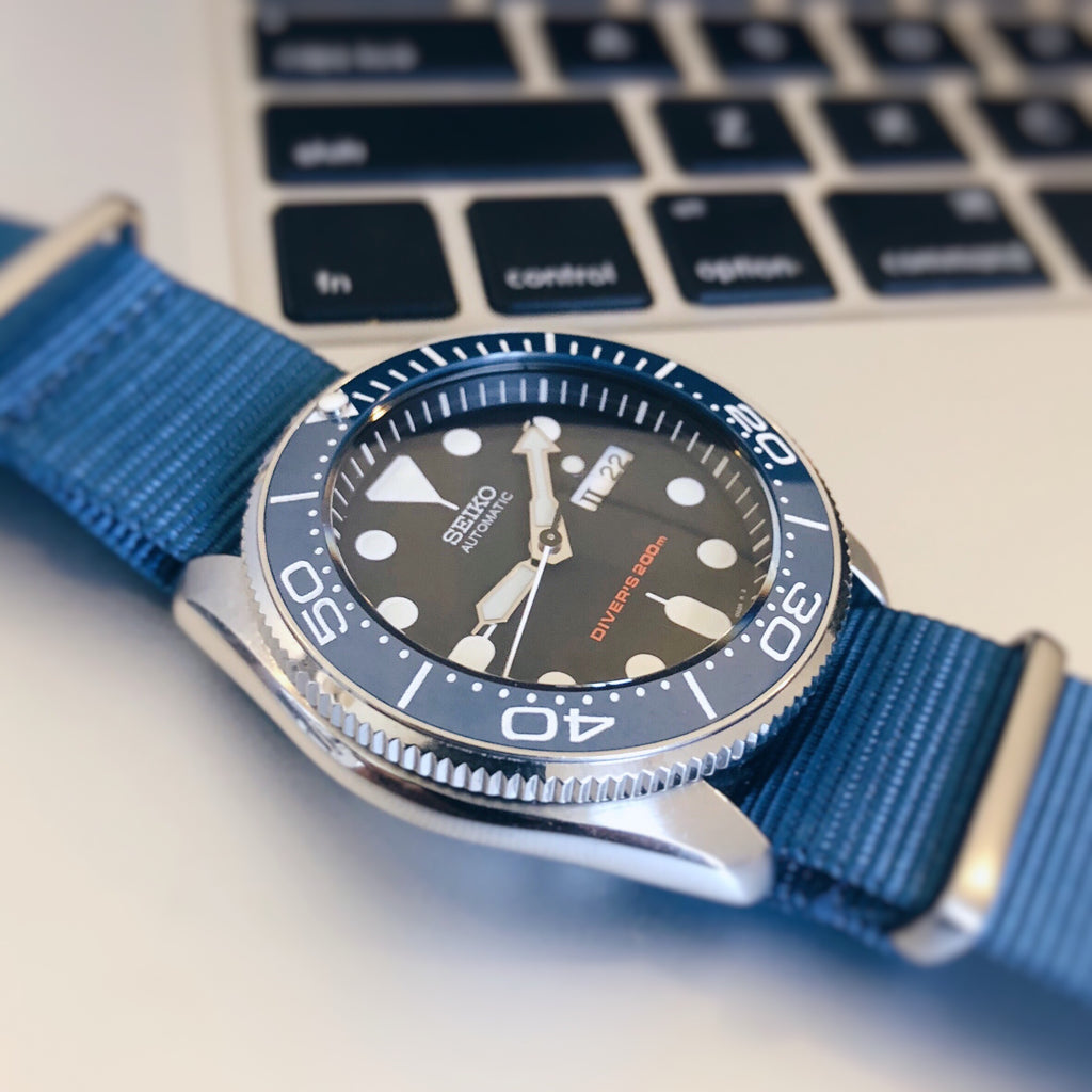 SKX007 SKX009 Coin Edge Bezel: Polished Finish