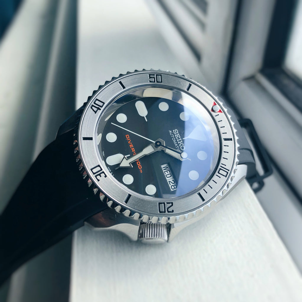 SKX007/SRPD Sub Bezel: Polished Finish