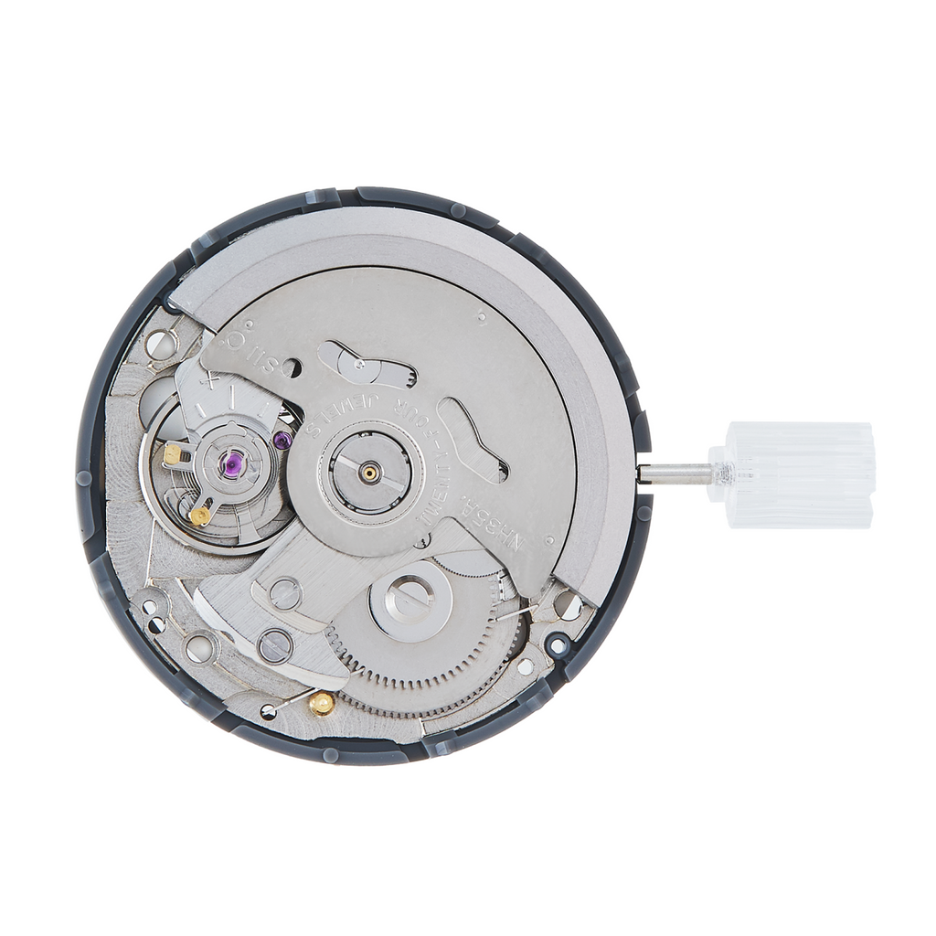 Seiko (SII) NH35A Automatic Movement Back
