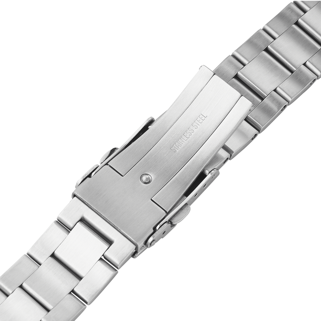 SKX007/SRPD Watch Bracelet: Oyster Brushed Finish Milled Clasp