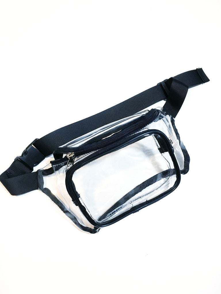 Clear As Day Fanny Pack - music festival outfits