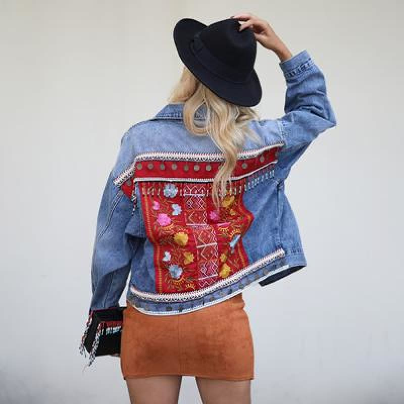 Chaqueta Denim Jacket - music festival outfits
