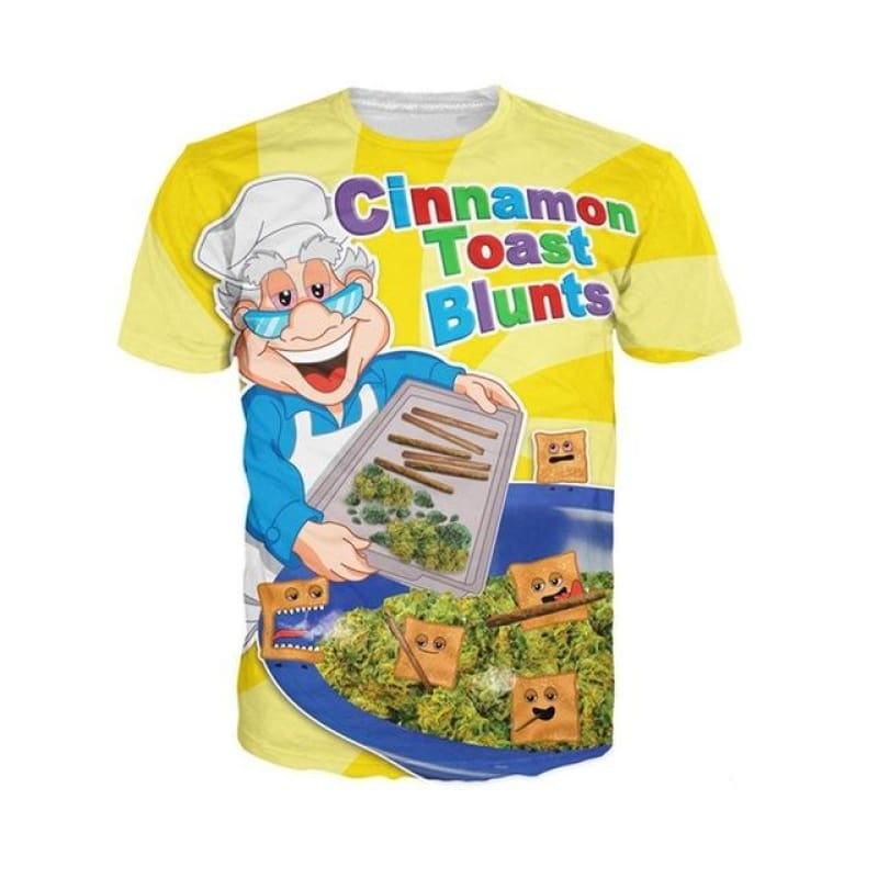Cinnamon Blunts T-Shirt - music festival outfits