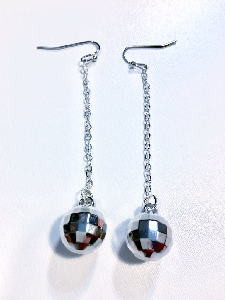 Disco Ball Earrings - music festival outfits