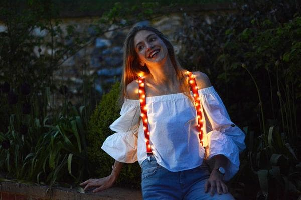 Light-Up Braces - music festival outfits