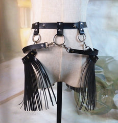 Western Fringe Harness - music festival outfits