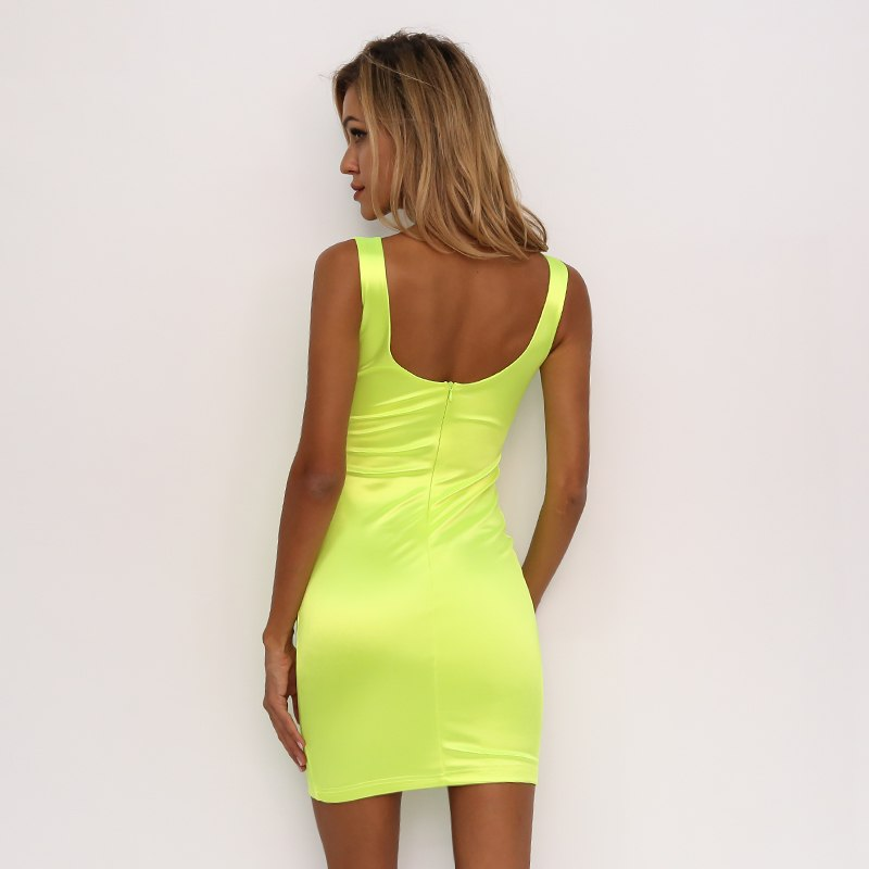 Neon Dreams Dress - music festival outfits