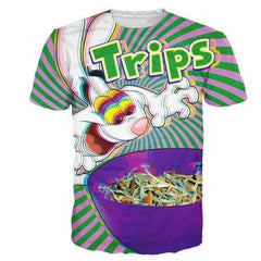 Trips T-Shirt - music festival outfits