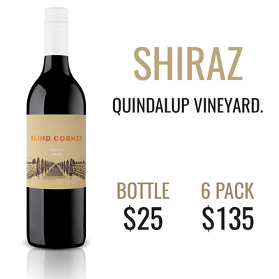 2016 Blind Corner Shiraz SOLD OUT