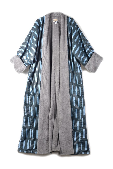 Silk Ikat Winter Robe