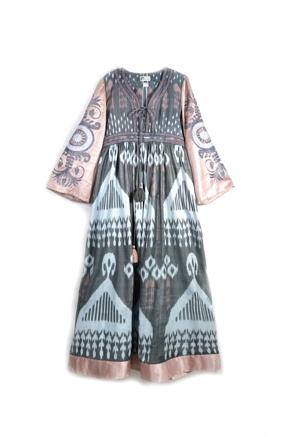 Ayesha Dress with Embroidered Sleeves