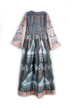 Load image into Gallery viewer, Ayesha Dress with Embroidered Sleeves