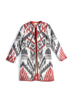 Load image into Gallery viewer, Classic Reversible Quilted Ikat Jacket