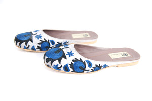Suzani Embroidered Slipper