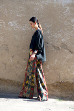 Load image into Gallery viewer, Embroidered Wide Leg Pants