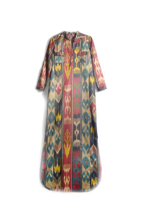 Khadija Ikat Dress