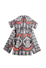 Load image into Gallery viewer, Maxi Ikat Robe