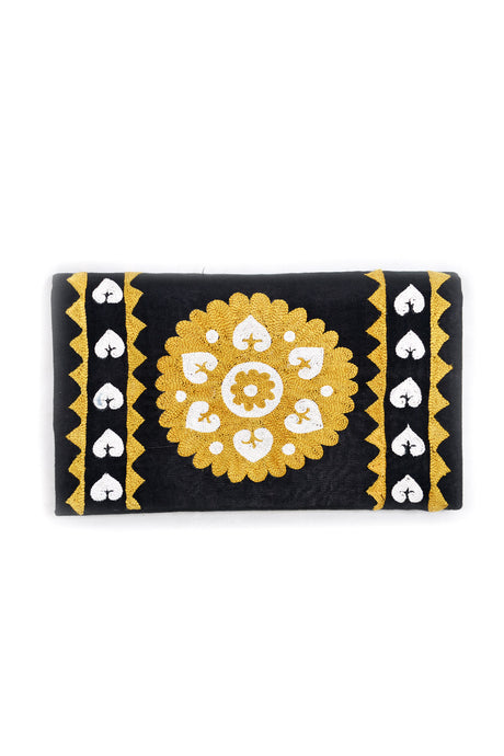 Embroidered Suzani Clutch