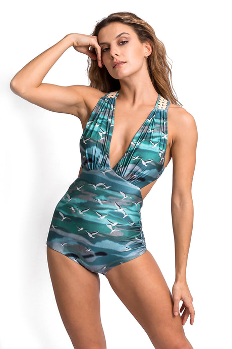 Vera Birds One Piece