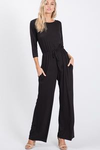 Black Full Body Jumpsuit