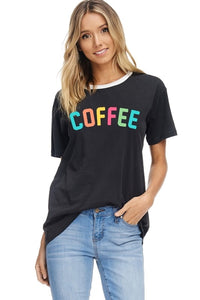 Coffee Multicolor Graphic Tee