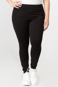 Full Length Black Stretch Pants