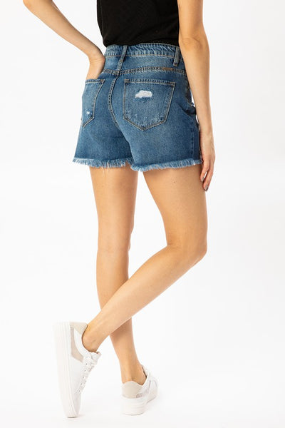 KanCan Denim High Rise Short