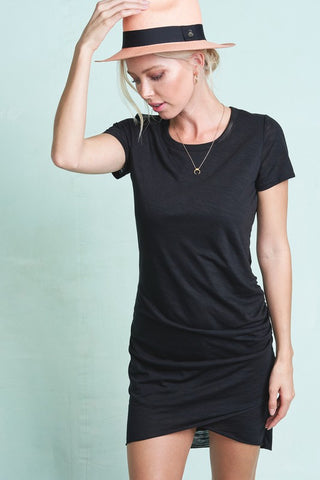 Black Casual Light Weight Black Dress