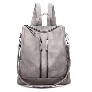 Gray Convertible Back Pack