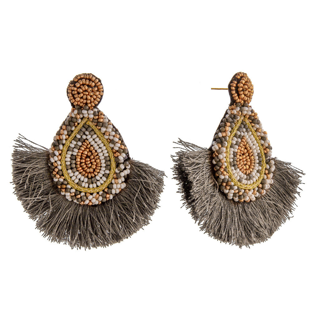 Stud Tassle Earrings