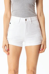 White KanCan Short