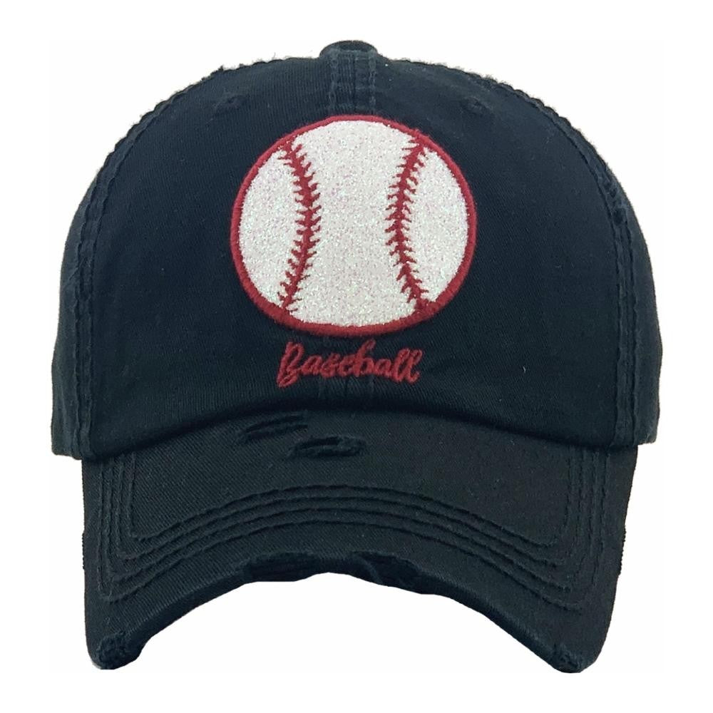 Black & Red Baseball Cap