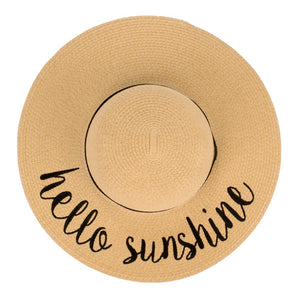 Hello Sunshine Floppy Hat