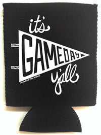 """It's Game Day Y'all"" Koozie"