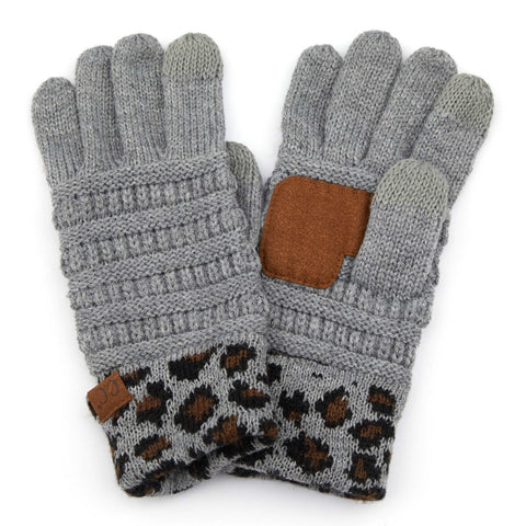Leopard Gloves