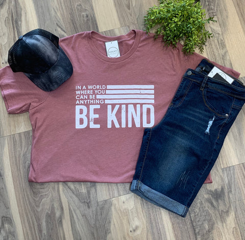 Curvy Be Kind Graphic Tee