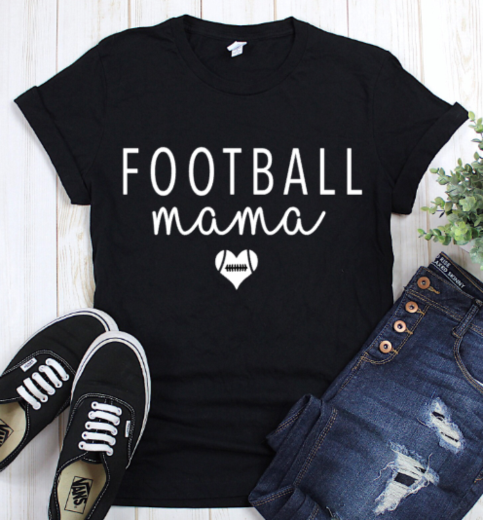 Football Mama Graphic Tee