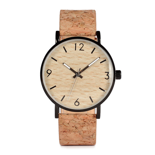 Neo-Vintage Watch with Cork Strap