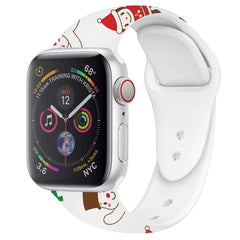 Christmas White Sport Band