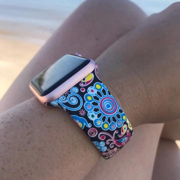 Printed Sport Band Dark Pattern