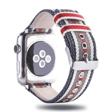 Fashion Nylon Striped Strap