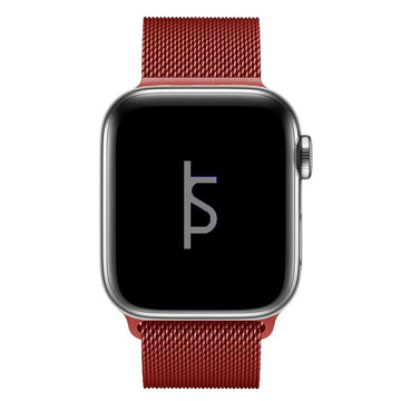 Red Milanese Loop