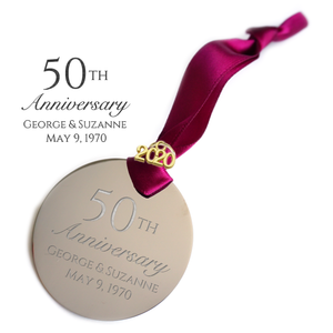 50th Anniversary Ornament