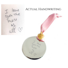 Handwriting Ornament