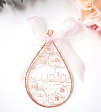 Christening Ornament