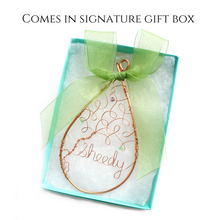 Birthstone Tree Ornament