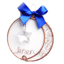 Moon & Star Ornament