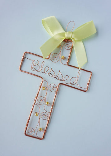 Angelic Yellow Cross