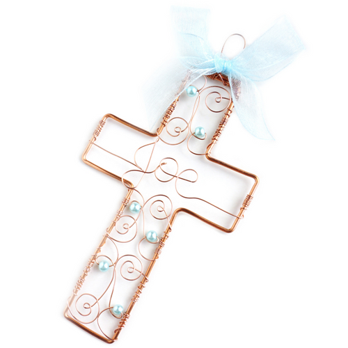 Filigree Cross Ornament