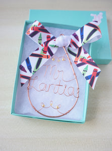 Teacher Ornament Gift Set